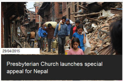 Presbyterian Church in Ireland launches special appeal for Nepal
